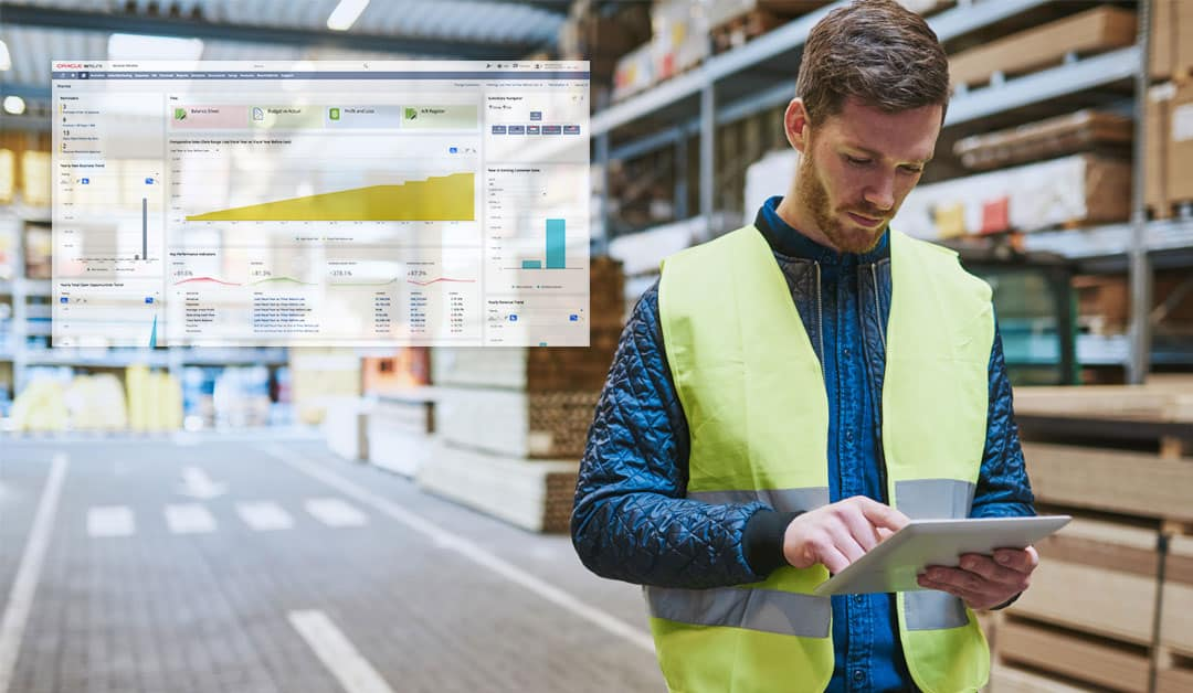 Cloud-based ERP system designed for field service operations