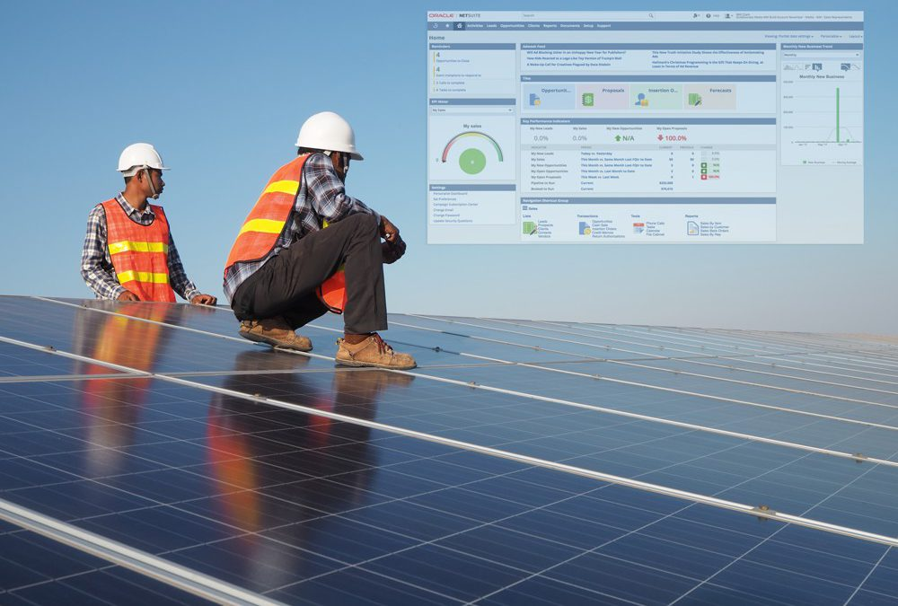 Solar businesses improve productivity with digital transformation